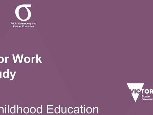 Skills for Work and Study Courses