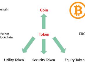 Der Unterschiede zwischen Coin und Token