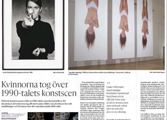 """Recension: Borås konstmuseums """"Generation"""" imponerar på GPs kritiker Sara Arvidsson."""