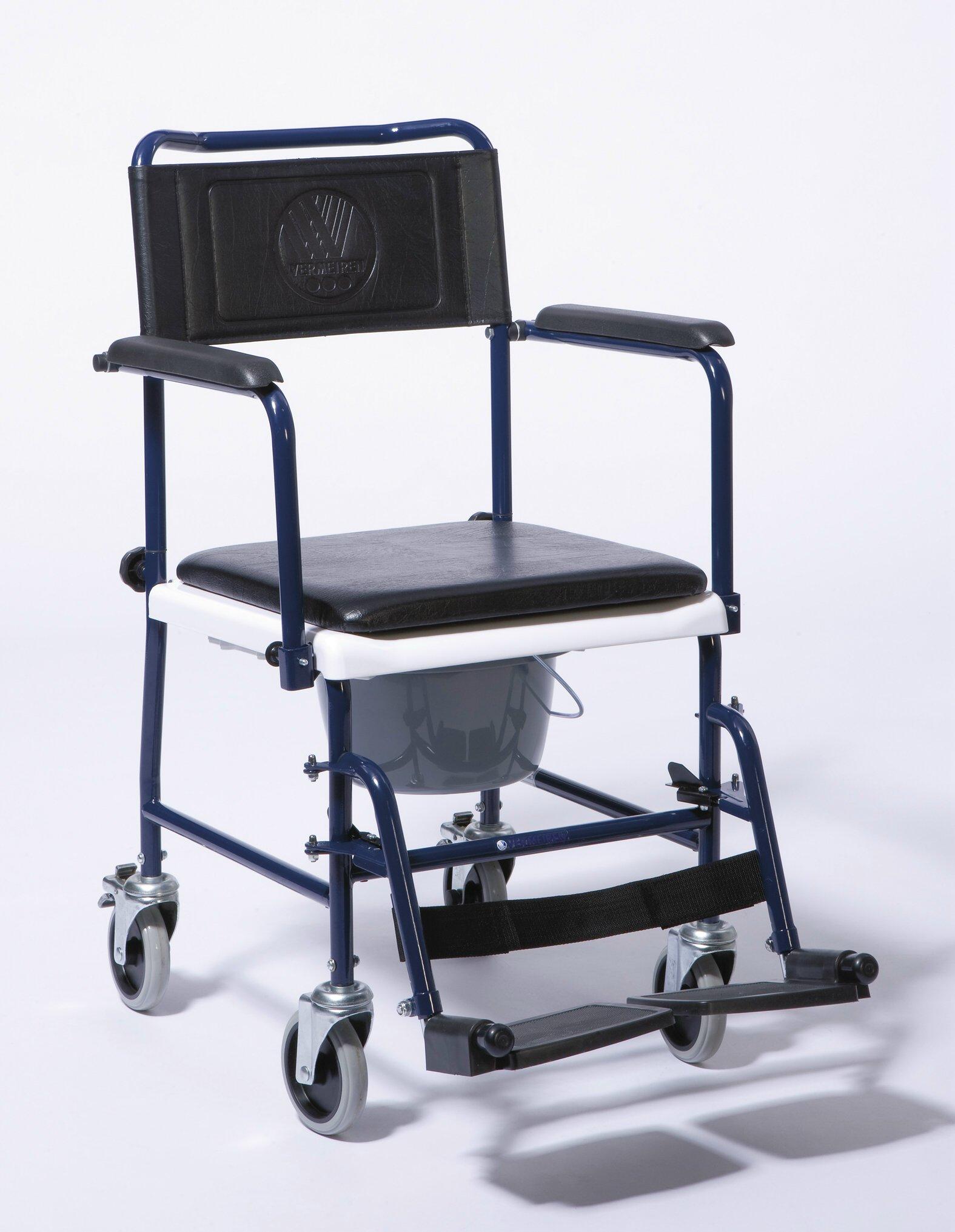 Chaise percée roulante 139E