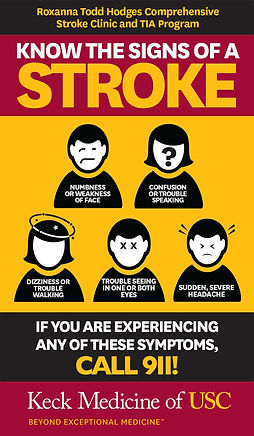 Keck Stroke Infographic