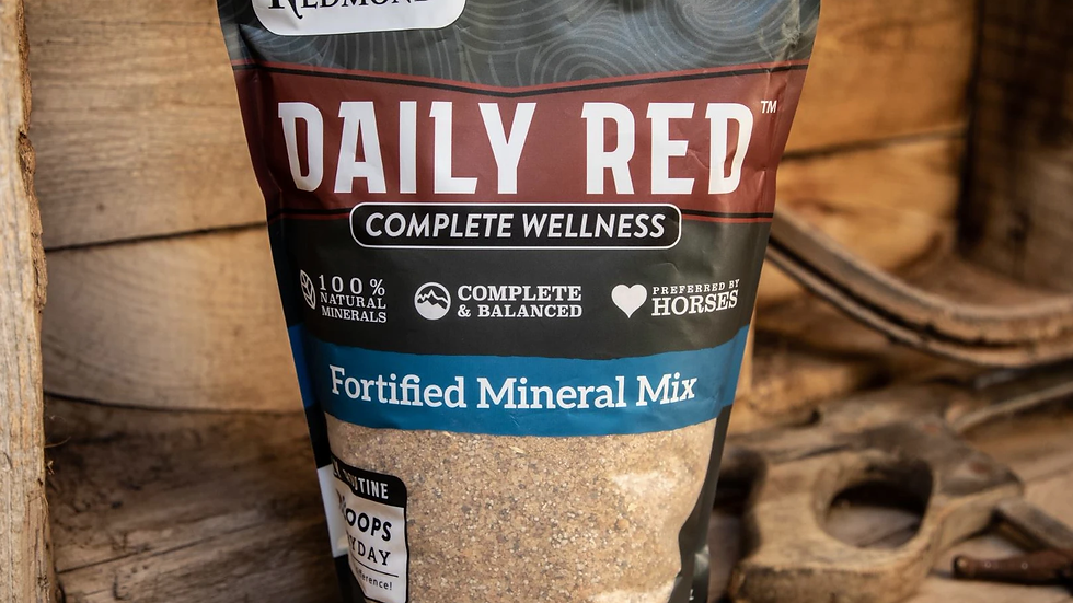 Daily Red- Fortified mineral mix