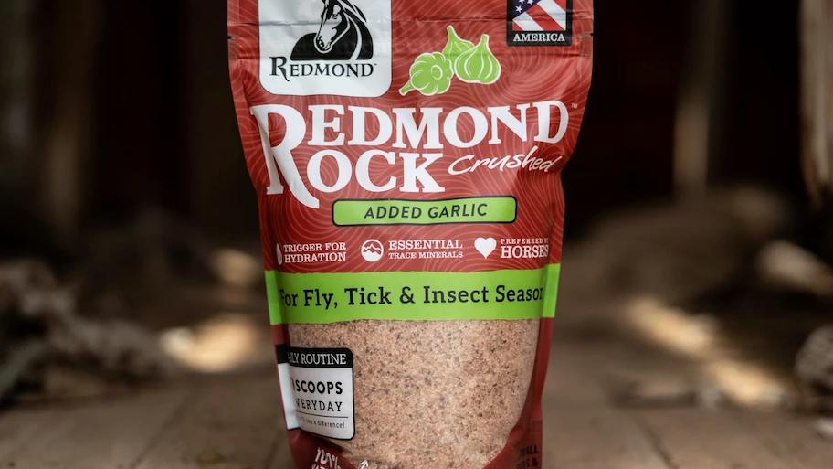 Redmond Rock Crushed with Garlic