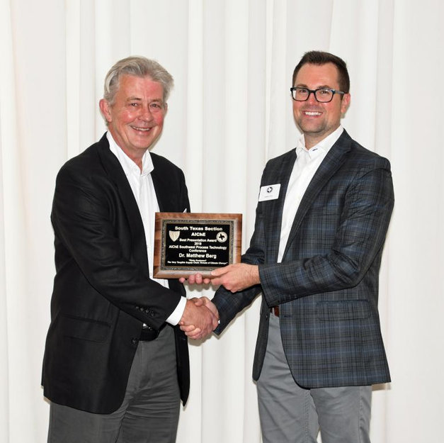 January 2020: AIChE Presentation Award