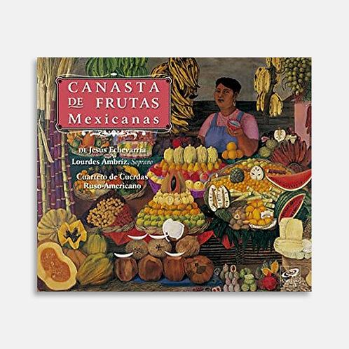 Canasta de frutas mexicanas  / Jesus Echevarria