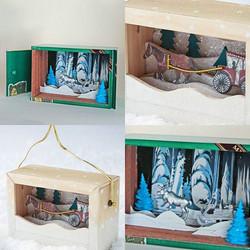 Upcycled Winter Diorama