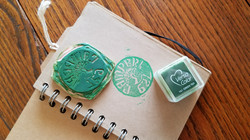 Alexis' Letterboxing Signature Stamp