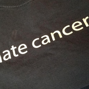 I hate cancer.