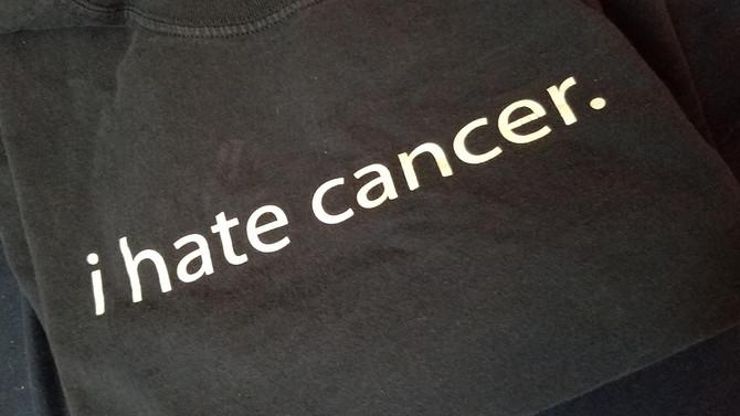 I hate cancer.