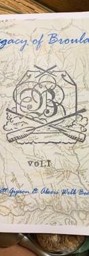 Legacy of Broulard Vol 1 zine
