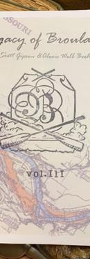 Legacy of Broulard Vol 3 zine
