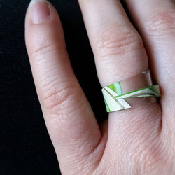 Upcycled Gift Card Ring