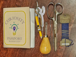 Official Curiosity Passports