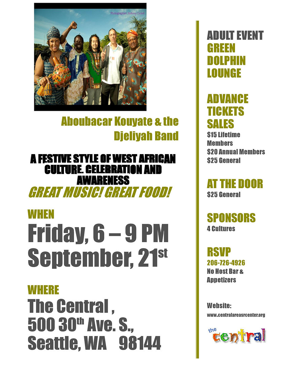 Boka & the Djeliyah BandCASC Sept 21, 20