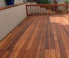 defy deck stain wood rail