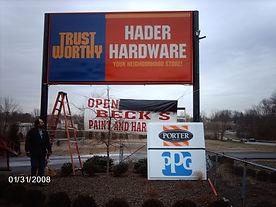 Beck Paint and Hardware Goshen Ohio