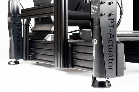 PT-Actuator's Scorpion Series Sim Racing Actuators