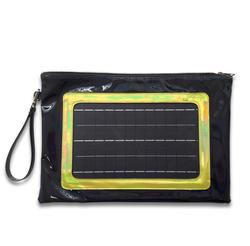 Solar clutch bag