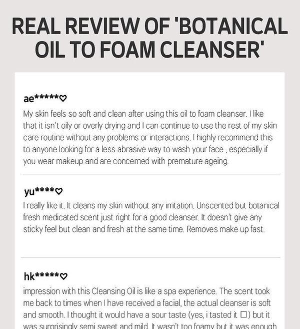 A138 Botanical Oil to foam cleanser (2).