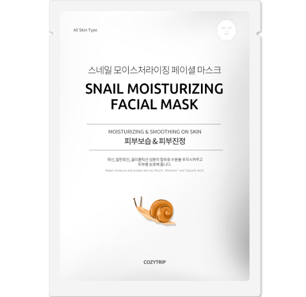 Snail facial mask