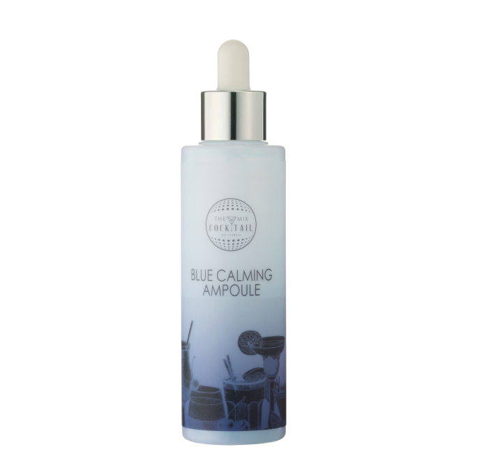 Blue caming ampoule