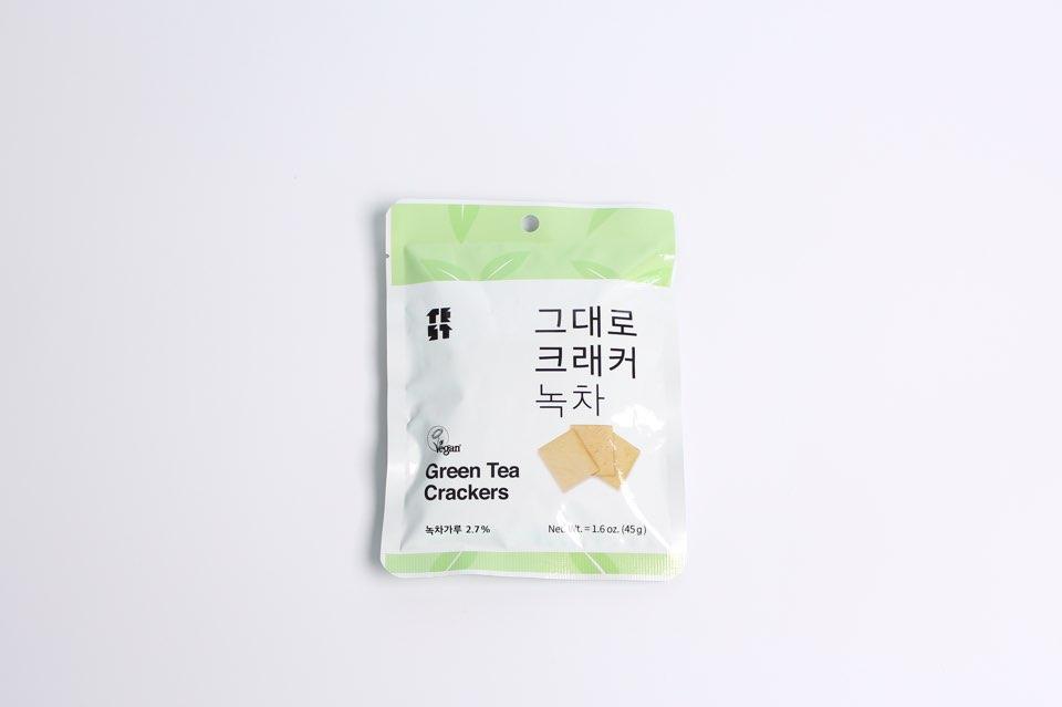 Greentea crackers