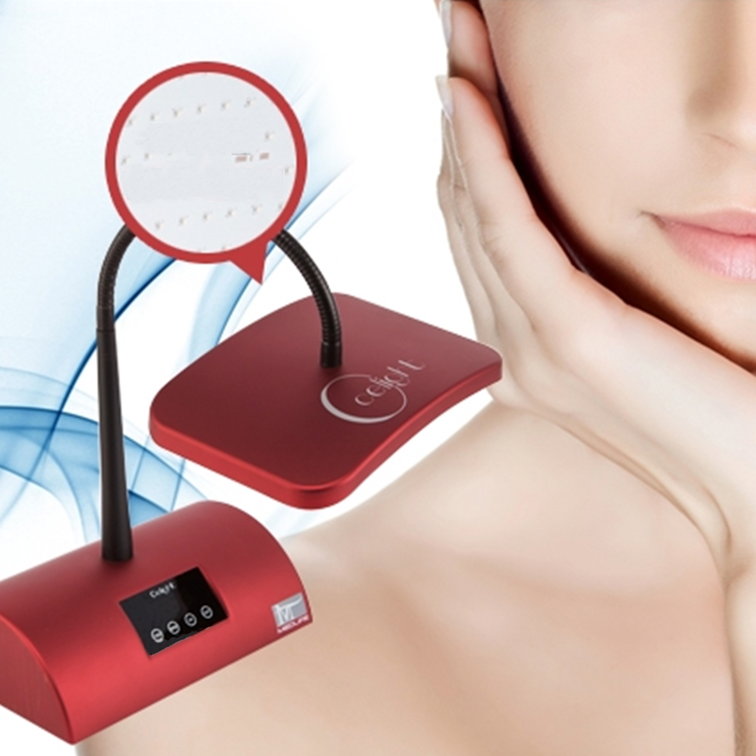 LED beauty device
