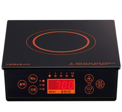 Portable induction range