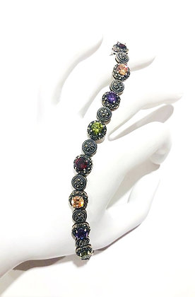 Cubic Zirconia and Marcasite bracelet