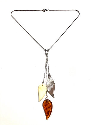 Milk and honey Amber necklace