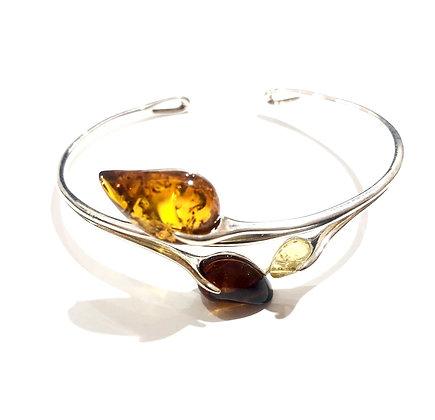 Milk honey and cherry Amber bracelet