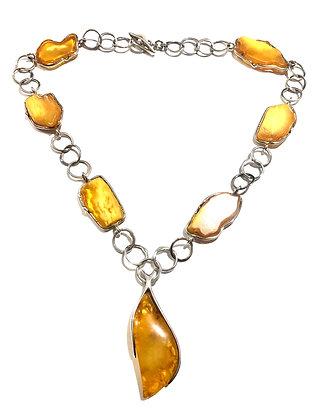 Milk Amber necklace