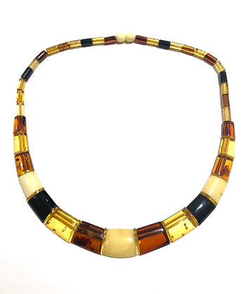 Multi color Amber stone