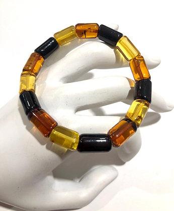 Honey cherry and yellow Amber bracelet