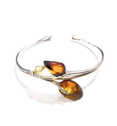 Honey and yellow Amber bracelet
