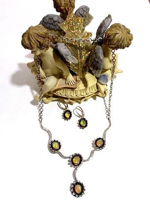 Ethiopian opal set