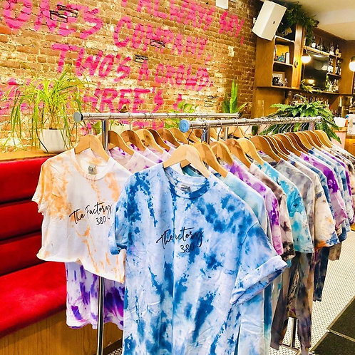The Factory Tie Dye Tshirt