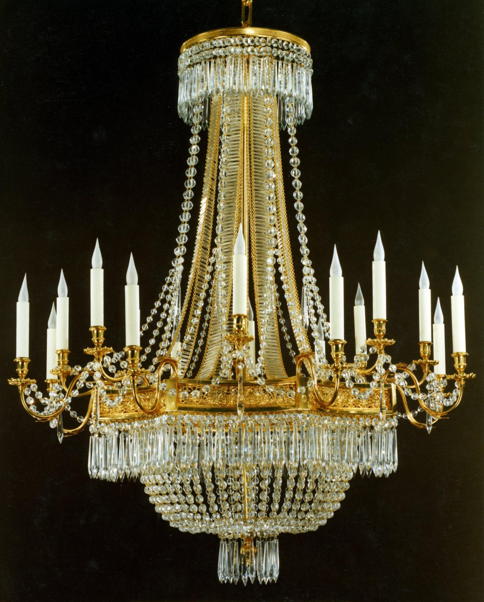 """""""Couronne"""" chandelier"""