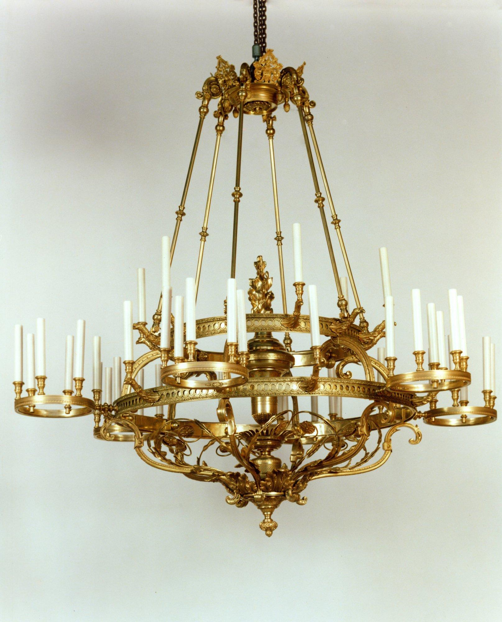"""""""Chaumont"""" chandelier"""
