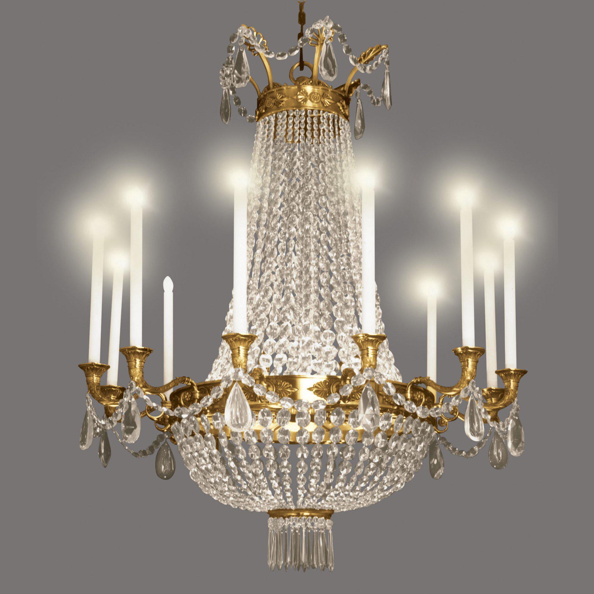 Charles X chandelier