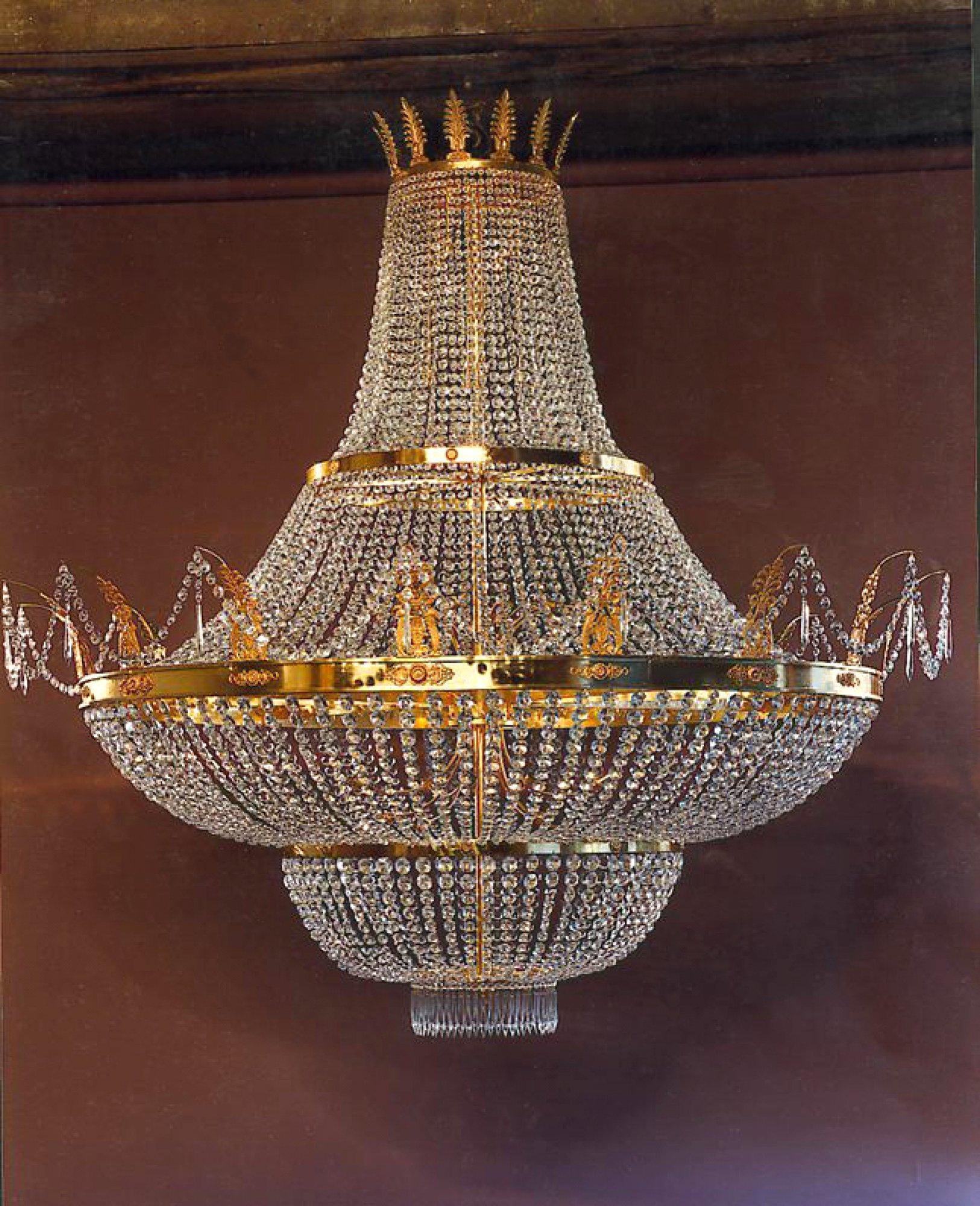 Octogone chandelier