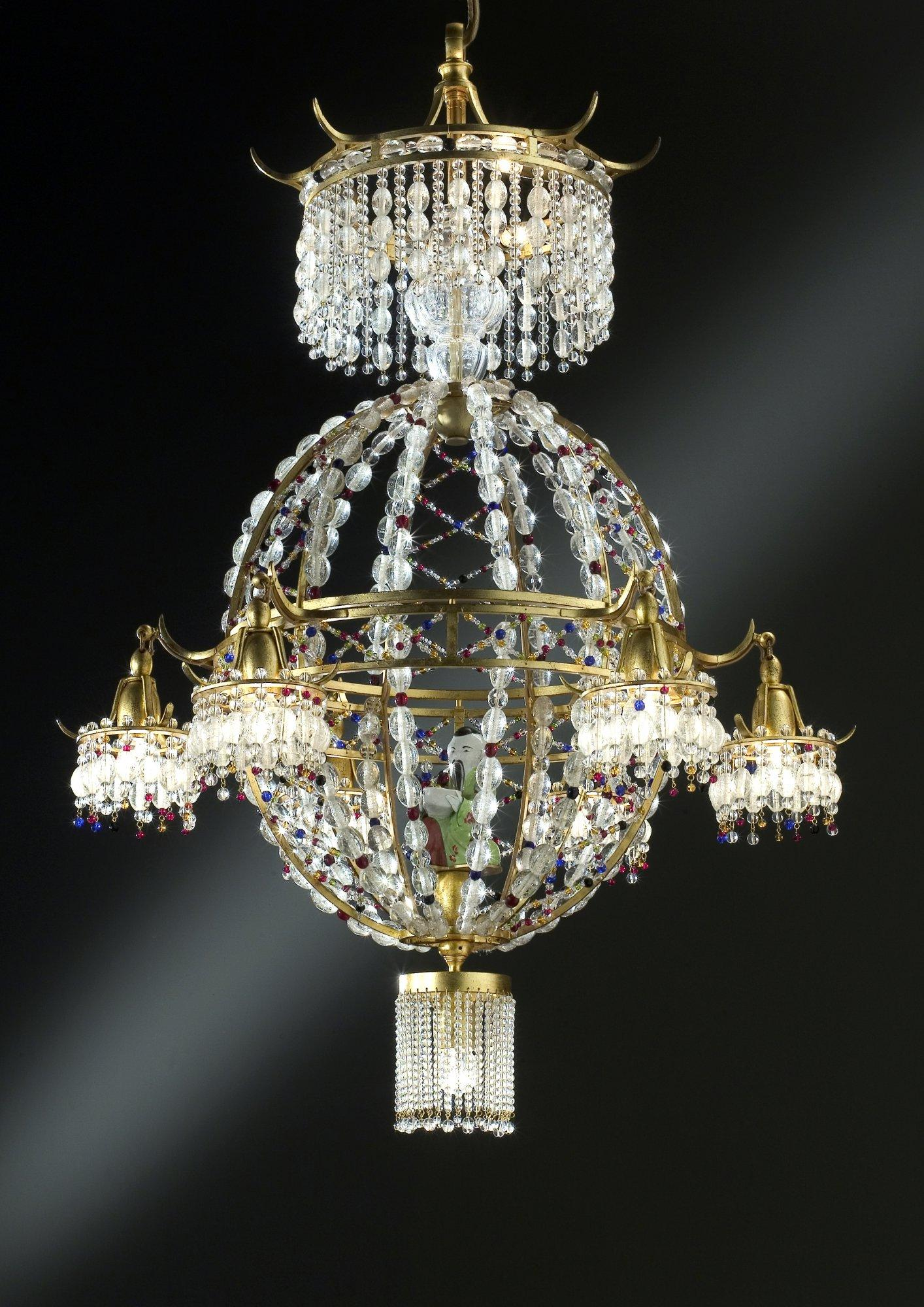 Pagode Chandelier