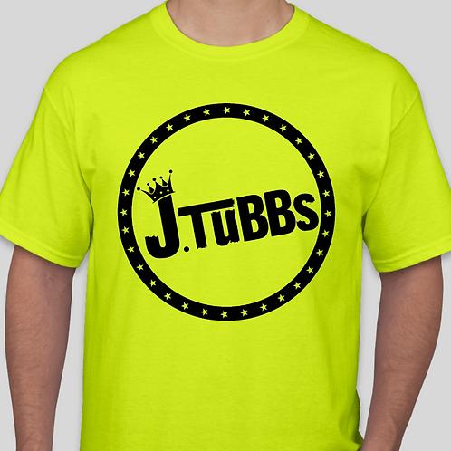 Volt Green/Black J. Tubbs Logo Shirt