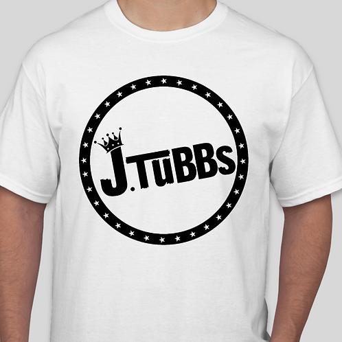 White/Black J. Tubbs Logo Shirt