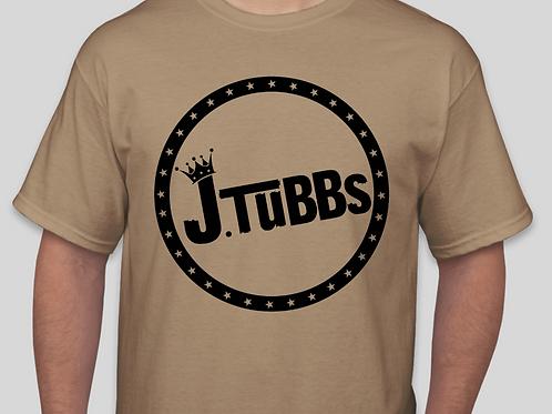 Tan/Black J. Tubbs Logo Shirt