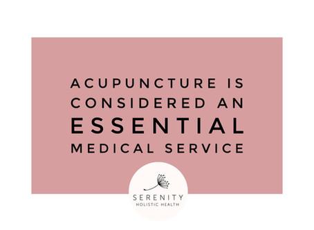 Acupuncture is Essential