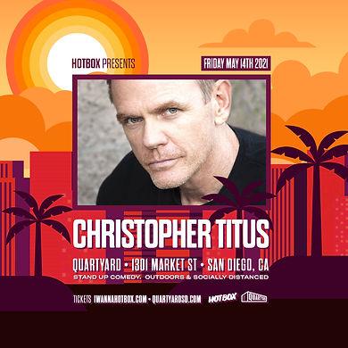 Christopher Titus - San Diego Quartyard