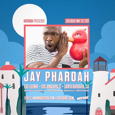 Jay Pharaoh - May 1st - Santa Barbara, CA