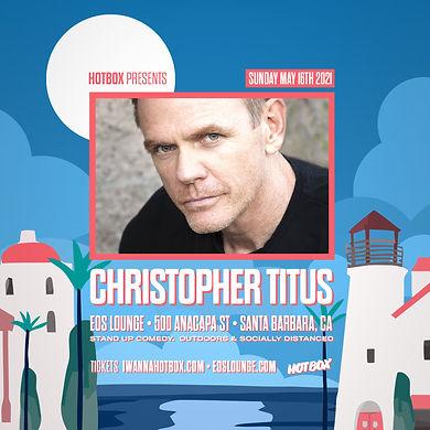 Christopher Titus - Santa Barbara EOS Lounge