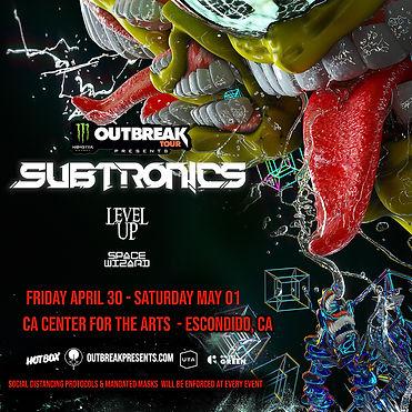 Subtronics 4-30 5-01 Escondido San Diego